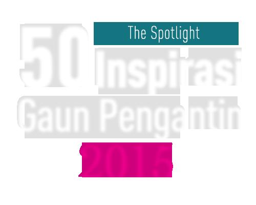 50 Inspirasi Gaun Pengantin 2015