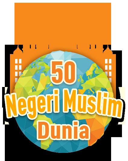 50 Negeri Muslim di Dunia