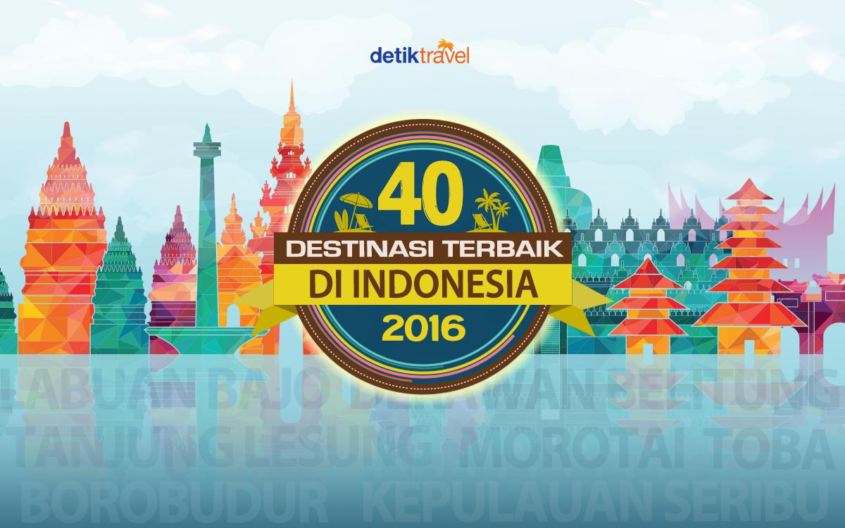 Destinasi Terbaik di Indonesia
