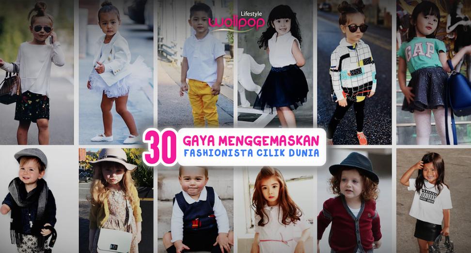 30 Gaya Menggemaskan Fashionista Cilik Dunia 84d0f6ccfb